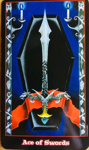 Vampire Tarot Ace of Swords