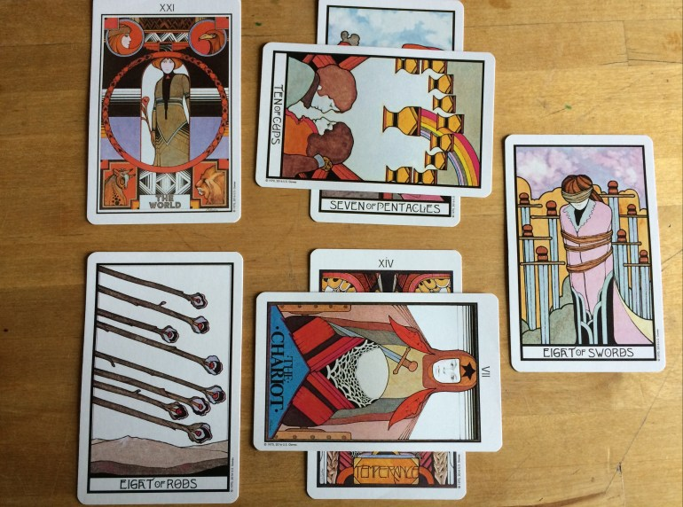 Protagonist vs. Antagonist Tarot Spread Sample Reading