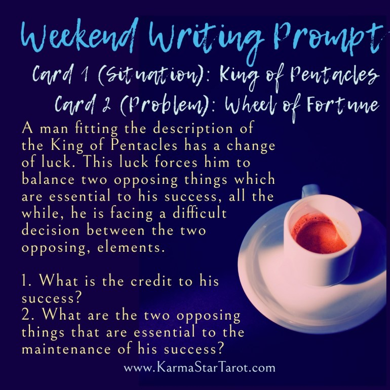 Writing Prompt Opposing Opposites
