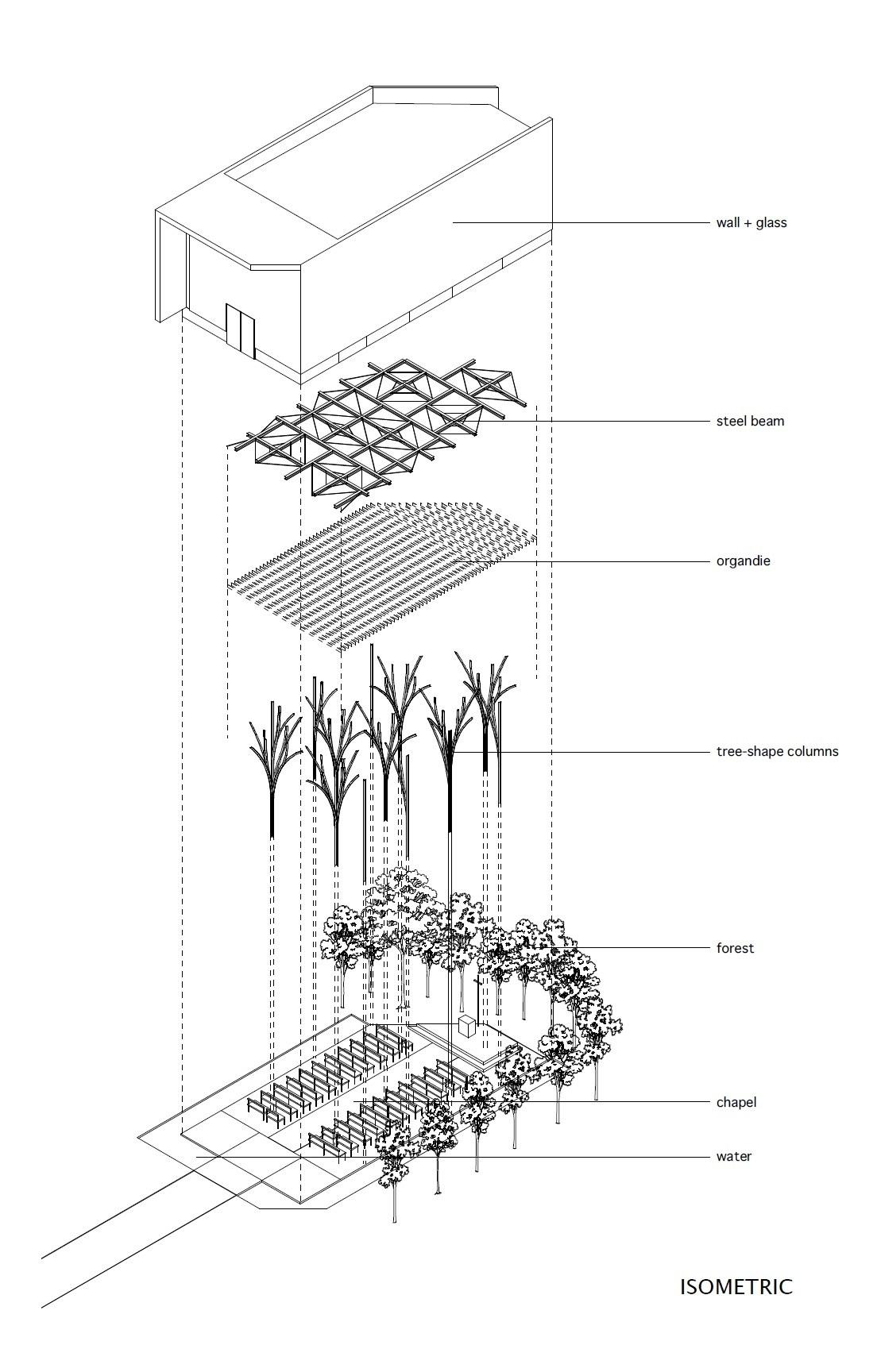 Forest Chapel By Hironaka Ogawa Amp Associates
