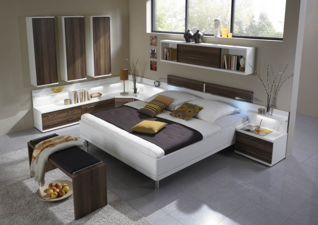 contemporary bedroom inspiration from wiemann karmatrendz. Black Bedroom Furniture Sets. Home Design Ideas