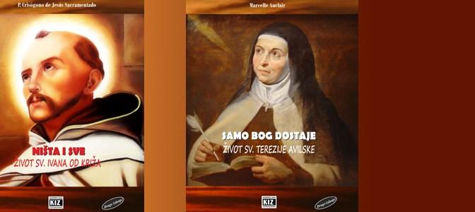 KIZ objavio životopise sv. Terezije Avilske i sv. Ivana od Križa