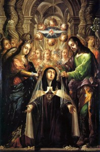 9 0 Vision of St Theresa Avila intercession of st joseph