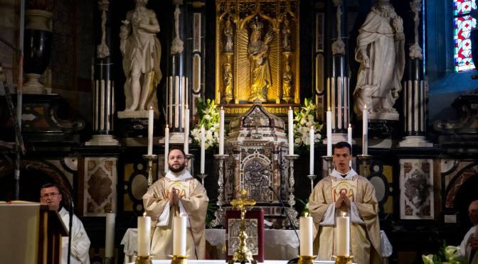 Mlada misa o. Marka i o. Stanka u Remetama