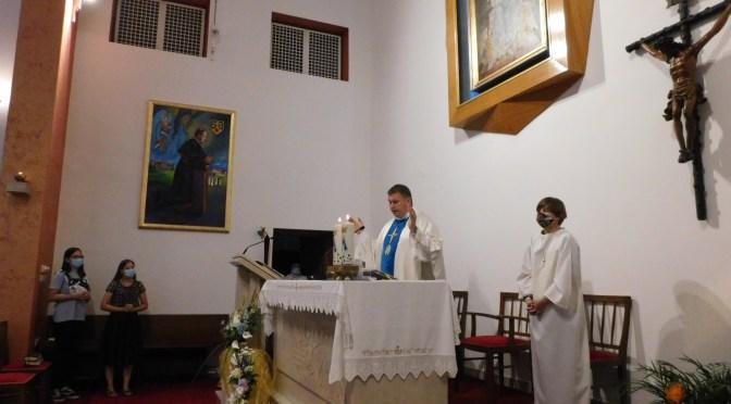 Prvi dan trodnevne priprave za Karmelsku Gospu u Brezovici