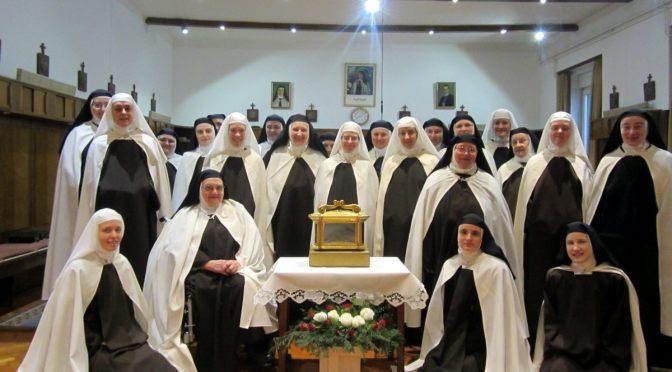Sveta Terezija Avilska među svojim kćerima u Karmelu-Brezovici