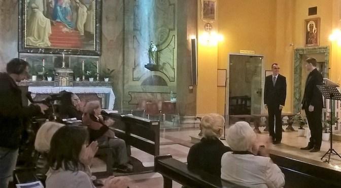 Koncert hrvatskog basa u Rimu