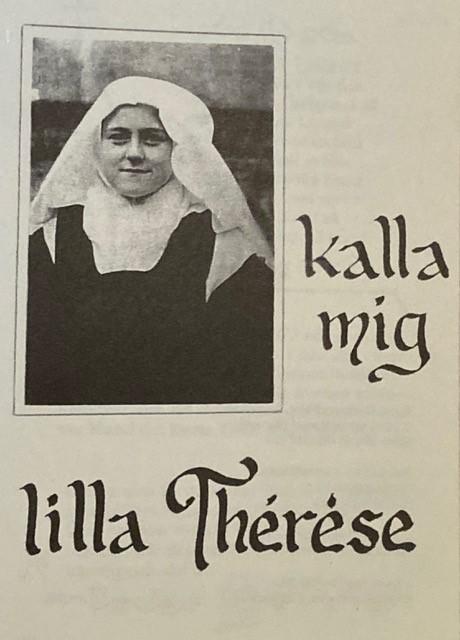 Kalla mig lilla Thérèse