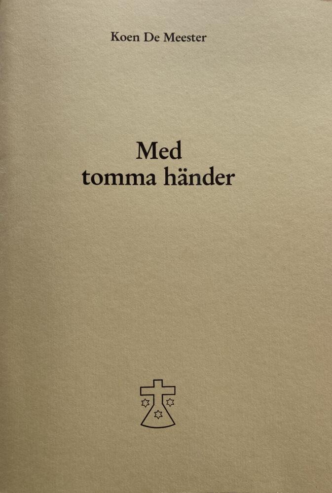 Med Tomma Händer