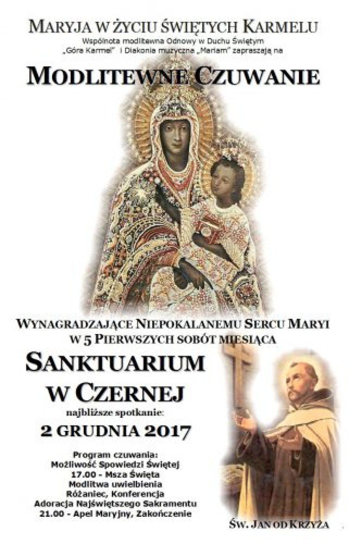 Zaproszenie na I sobotę grudnia 2017