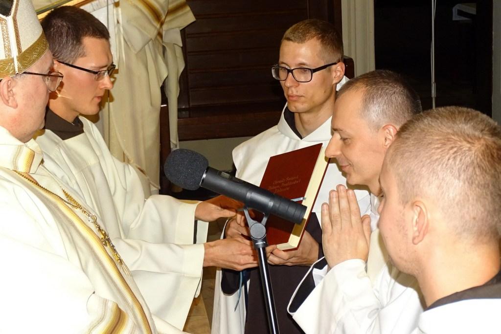święcenia o. Piotr