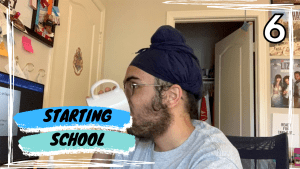Getting ready for SENIOR year: Day in the life of a High School Student//Karm's Vlog #6