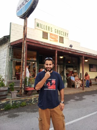 Millers Grocery and Garrett's crazy, country beard!