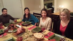 Our thanks giving prayer after celebrating Hanukkah