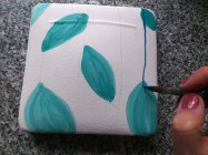 Decoration Techniques: my favourite, painting on raw glaze