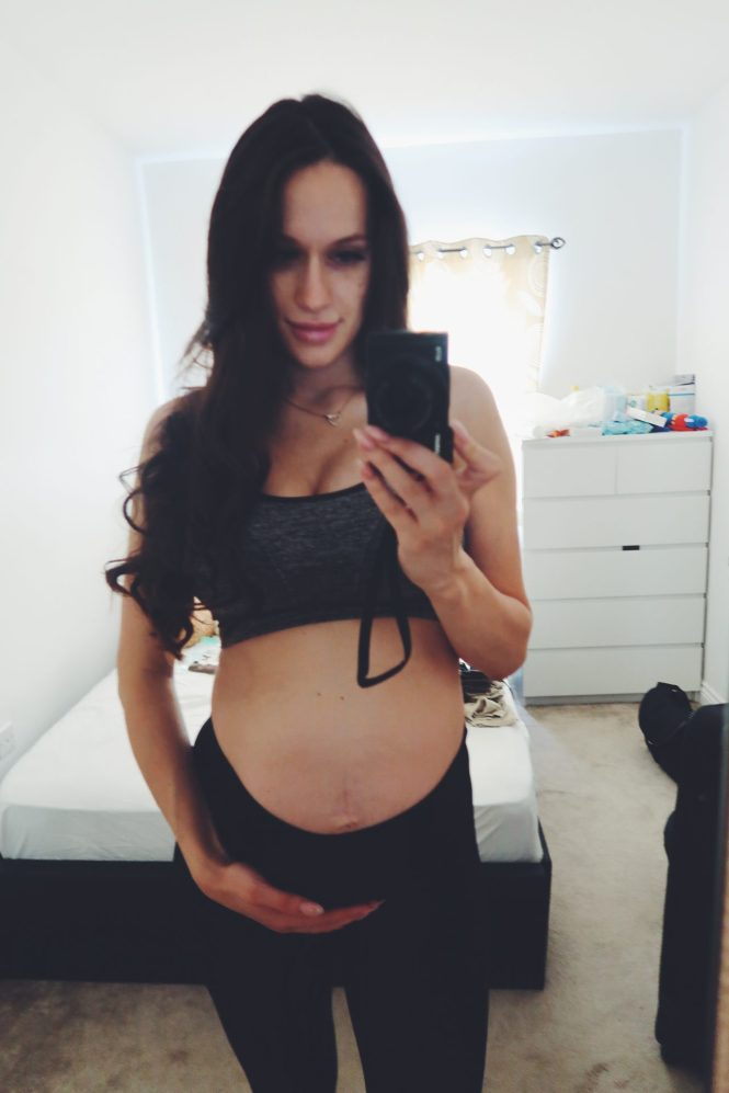 baby bump week 31