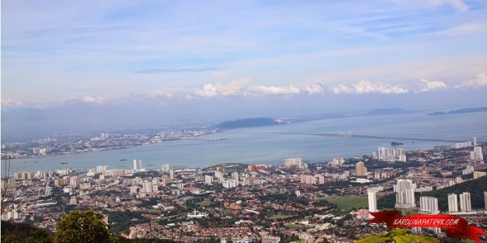 Aerial view on Penang