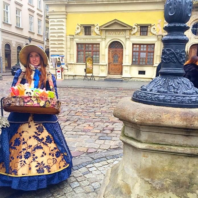 Young Ukrainian girl