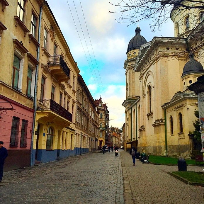 Old Town in Lviv