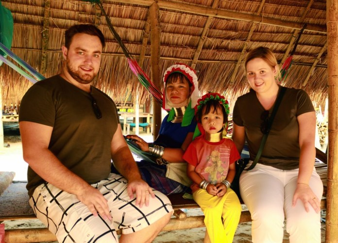 Visiting long neck tribe