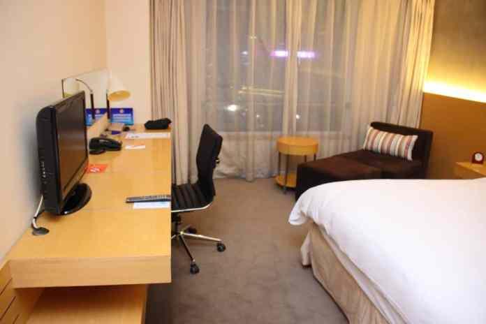 Deluxe room Hotel Jen Upper East Beijing