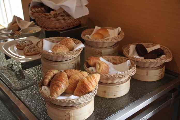 Delicious breakfast at Hotel Jen Upper East Beijing