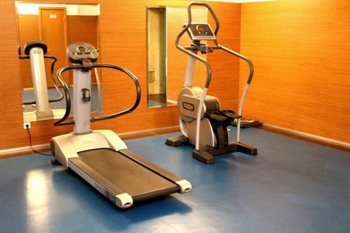 Gym at Gallery Park hotel