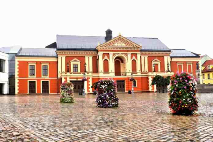 Klaipeda Theatre Square