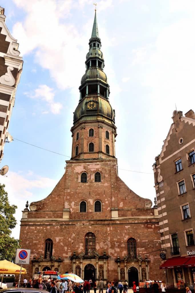 St Peter Basilica Riga