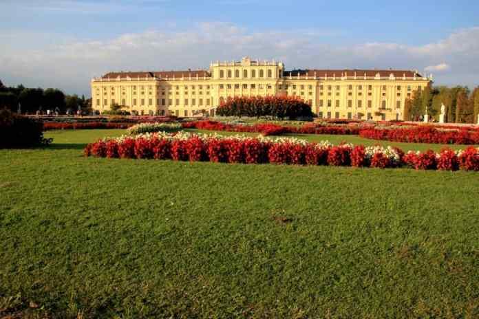 Viennese Schonbrunn Palace