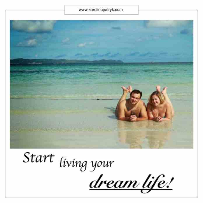start-living-your-dream-life Travel quotes