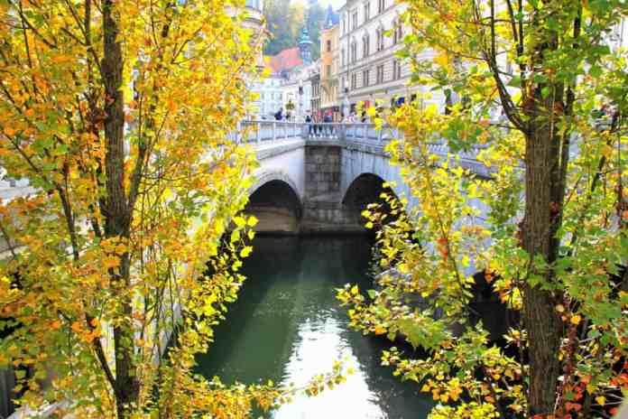 Triple Bridge Ljubljana