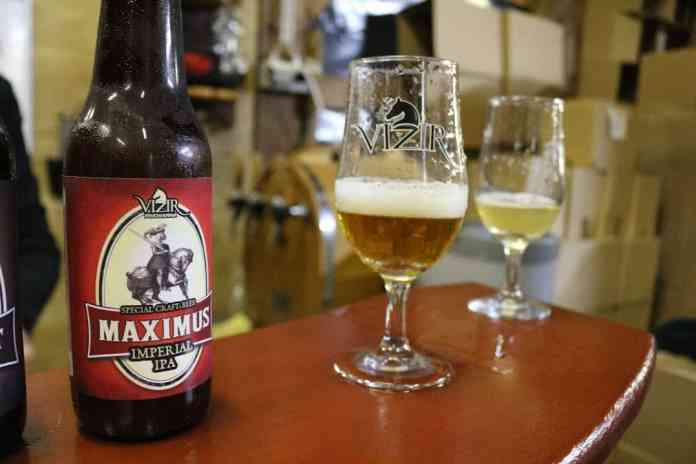 Vizir beer crafted