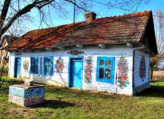 Colorful house Zalipie lovely