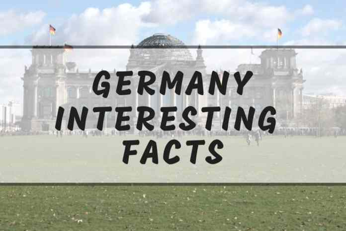 Interesting germany facts