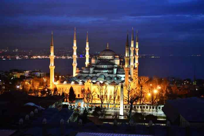 The Blue Mosque of Istanbul