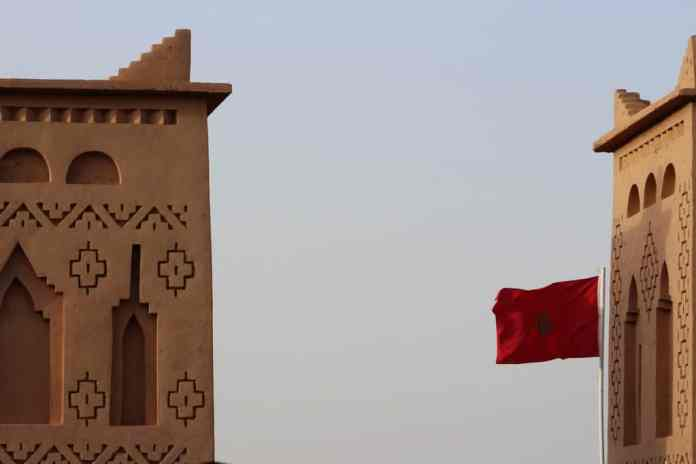 The flag is an important part of Morocco culture