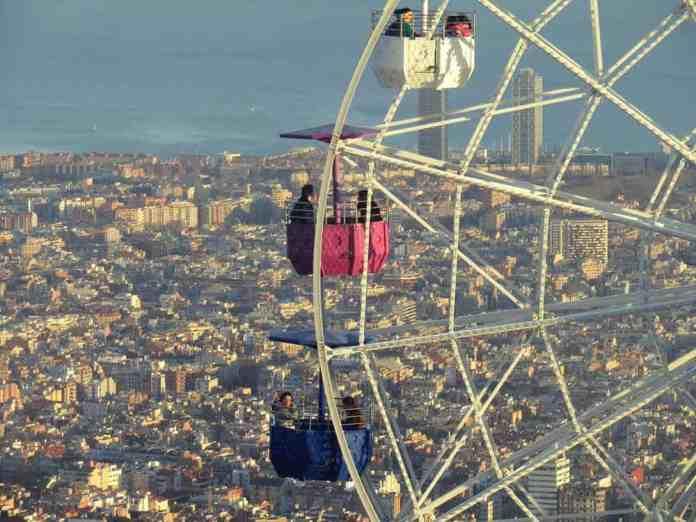 ferris wheel tibidabo Barcelona