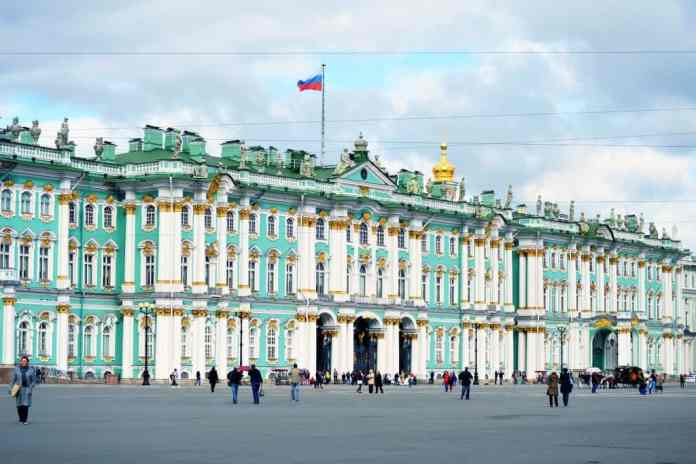 Russia places: Hermitage Museum