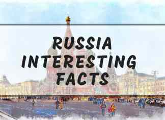 Intersting Russia facts