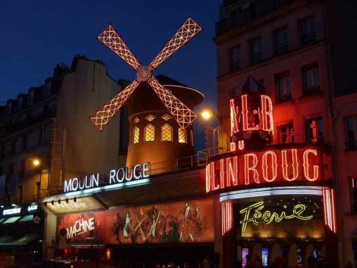 Most romantic restaurants Paris
