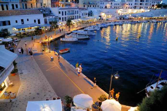 Menorca romantic destination Europe
