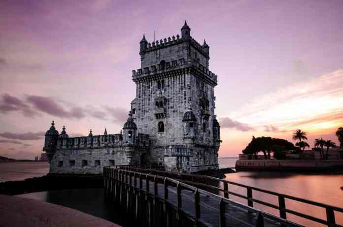 The romantic architetcure of Lisbon