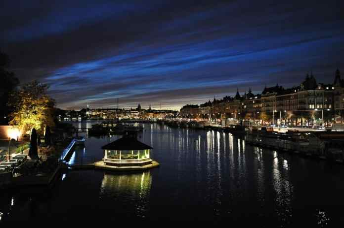 Stockholm by night romantic