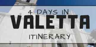 4 DAYS IN VALETTA itinerary
