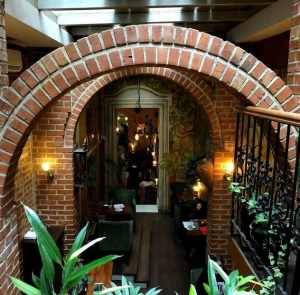 cafe botanica krakow inside