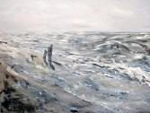 På stranden 3 90x120 cm Eborgholm