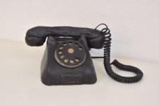 sort telefon