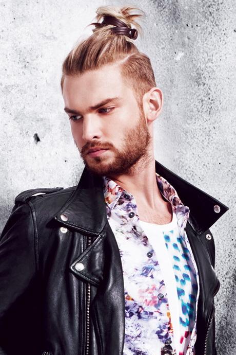 Trendy hair styling for men with undercut 2016 infographic. Herrenfrisuren 2015 undercut