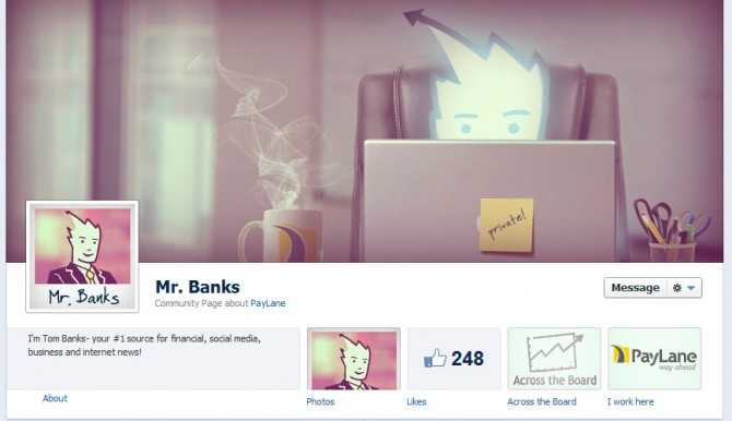 Our buyer persona - Mr Banks - Facebook